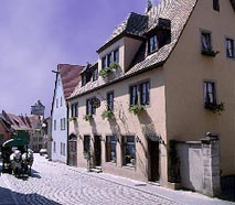 Rothenburg ob der Tauber Pension Becker